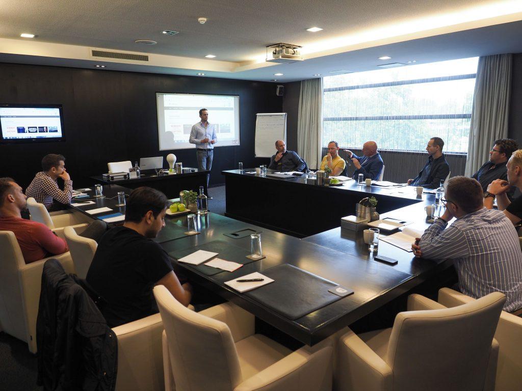 Marco Coninx Tijdens AMZ Masterclass Live Cursus Dag Voor Ondernemers